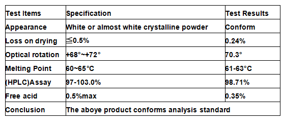 Strongest Anabolic Raw Powders Testosterone Undecanoate/Test Undecanoate CAS5949-44-0 For Male