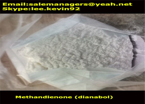 China CAS72-63-9 Raw Steroid Powders Methandienone / Dianabol Powder Medical Grade supplier