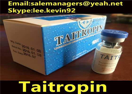 China Bodybuilding Taitropin Hgh Legal Injectable Hormones 100iu/Kit Cas 96827-07-5 supplier
