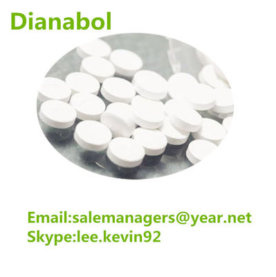 China ISO Muscle Mass Steroid For Methandienone Tablets Cas 72-63-9 10mg / Tab Dbol supplier