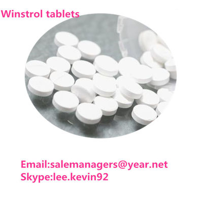 China 360-70-3 Legal Oral Steroids Winstrol Tablets / 50mg White Stanozol Pills supplier