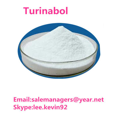 China High Purity Turinabol Raw Powder CAS 2446-23-3 Chlorodehydromethyltestosterone supplier