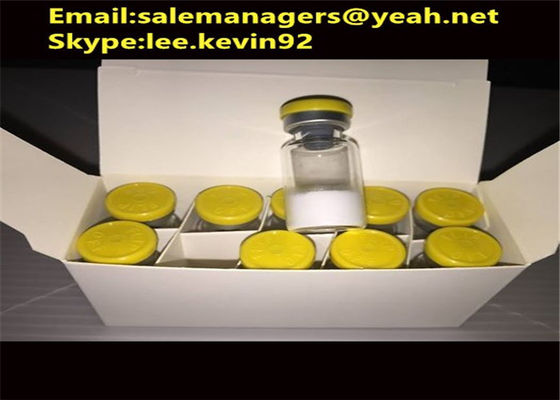 China Human Growth Hormone Peptides GHRP-2 CAS158861-67-7 / Fat Loss Steroids distributor