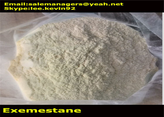 China Exemestane Aromasin Cancer Treatment Steroids Cas 107868-30-4 For Antitumor Drugs distributor