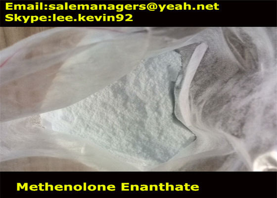 China lab steriods Methenolone Enanthate(Primobolan Enanthate) cas303-42-4  white raw powders for  muscle gain steroids factory