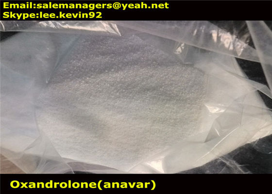 China Healthy Oxandrolone Anavar CAS 53-39-4 / Bodybuilding Supplements Steroids factory