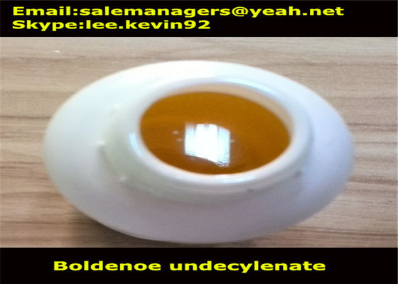 China Light Yellow Liquid Boldenone Undecylenate Equipoise CAS13103-34-9 GMP Certified distributor