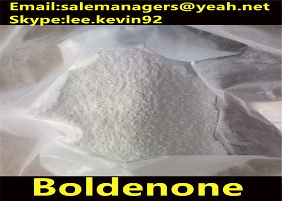 China Cutting Fat Boldenone Steroids / 1-Dehydrotestosterone Cas 846-48-0 White Crystalline Powder distributor