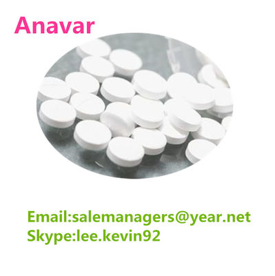 China Anavar 10mg Oxandrolone Steroid Pills / Cas 53-39-4 Oxandrolone Fat Loss Oral Pills distributor