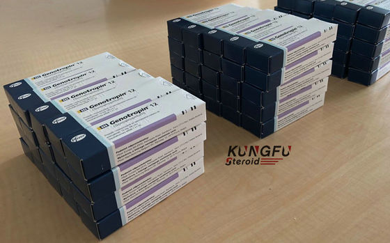 Double Chamber Cartridge HGH Hormone Powder Fitness Supplements