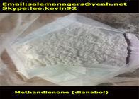 CAS72-63-9 Raw Steroid Powders Methandienone / Dianabol Powder Medical Grade