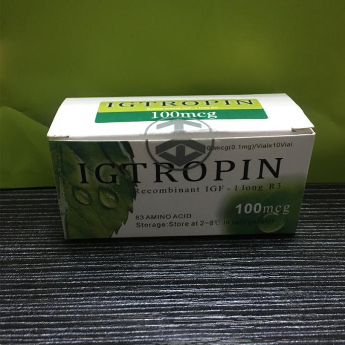 Igtropin Natural Growth Hormone Supplements Injectable 2 Years Shelf Life
