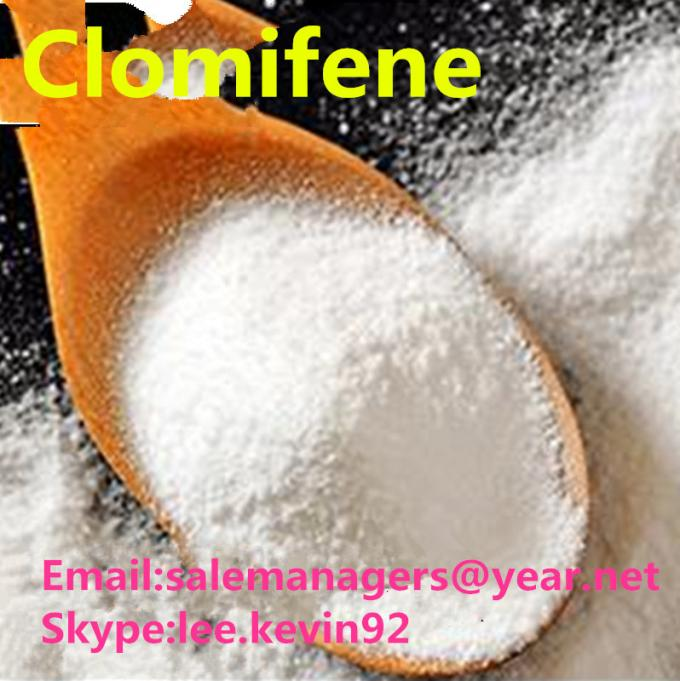 CAS 50-41-9 Clomifene Citrate Raw Steroid Powders Pharmaceutical Grade