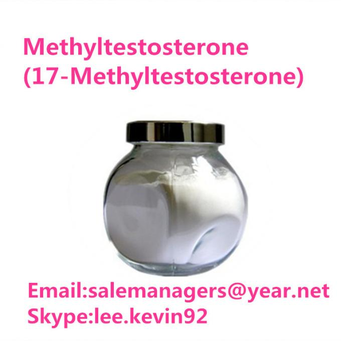 Healthy Raw Testosterone Powder 17- Methyltestosterone Cas 58-18-4 For Lose Weight